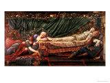The Briar Rose' Series, 4: the Sleeping Beauty, 1870-90 Giclée-Druck von Edward Burne-Jones