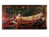 The Briar Rose' Series, 4: the Sleeping Beauty, 1870-90 Lámina giclée por Edward Burne-Jones