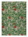 Arbutus Wallpaper Design Reproduction procédé giclée par William Morris