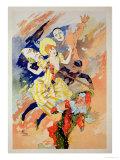 Reproduction of a Poster for a Pantomime, 1891 Impressão giclée por Jules Chéret