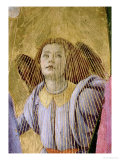 "Angel, from the ""Coronation of the Virgin,"" circa 1488-90 (Detail) Reproduction procédé giclée par Sandro Botticelli"