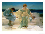 Ask Me No More, 1906 Giclée-tryk af Sir Lawrence Alma-Tadema