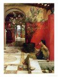 An Oleander, 1882 Gicléedruk van Sir Lawrence Alma-Tadema