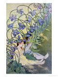 The Violets, Lively Flowers, 1897 Giclee Print by Firmin Etienne Bouisset