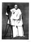 Portrait of Jean Charles Deburau as Pierrot, circa 1850-60 Gicléedruk van  Nadar