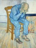 Old Man in Sorrow, 1890 Giclée-tryk af Vincent van Gogh