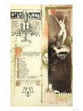 "The Love Potion, the Month of May for a Magic Calendar Published in ""Art Nouveau"" Review, 1896 Lámina giclée por Manuel Orazi"