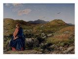 Man of Sorrows Giclée-tryk af William Dyce