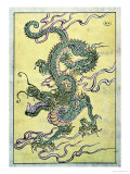 A Chinese Dragon Giclée-tryk