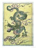 A Chinese Dragon Gicléedruk