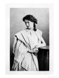 "Sarah Bernhardt in the Role of Junie in ""Britannicus"" by Jean Racine circa 1860 Giclee Print by Gaspard Felix Tournachon Nadar"