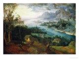 The Parable of the Sower, 1557 Giclée-Druck von Pieter Bruegel the Elder