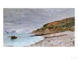La Pointe De La Heve, 1864 Giclée-Druck von Claude Monet