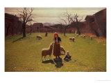 Deluded Hopes Giclee Print by Giuseppe Pellizza da Volpedo