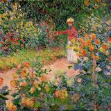 Garden at Giverny, 1895 Giclée-Druck von Claude Monet
