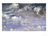 Study of Cirrus Clouds Giclee Print by John Constable