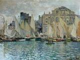Vista de Le Havre, 1873 Impressão giclée por Claude Monet