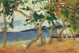 By the Seashore, Martinique, 1887 Giclée-Druck von Paul Gauguin
