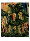 Detail of Heaven from the Last Judgement Giclée-vedos tekijänä  Fra Angelico