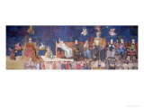 Allegory of Good Government, 1338-40 Giclee Print by Ambrogio Lorenzetti