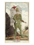 "Papageno the Bird-Catcher, from ""The Magic Flute"" by Wolfgang Amadeus Mozart Giclee Print"