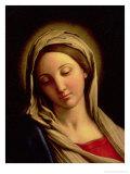 The Madonna Giclee Print by  Giovanni Battista Salvi da Sassoferrato
