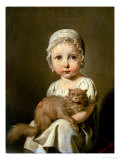 Gabrielle Arnault 1813 Giclee Print by Louis Leopold Boilly