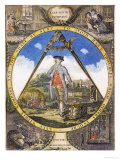 Keep Within the Compass circa 1784 Giclee Print by Robert Dighton