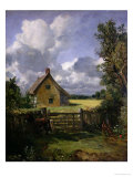 Cottage in a Cornfield, 1833 Giclee Print by John Constable