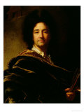 Self Portrait Giclee Print by Hyacinthe Rigaud