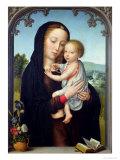 Neitsyt ja lapsi Giclée-vedos tekijänä Gerard David