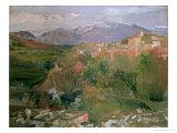Granada, 1920 Giclée-vedos tekijänä Joaquín Sorolla y Bastida