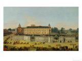 The Palace of Aranjuez, 1756 Giclée-tryk af Francesco Battaglioli