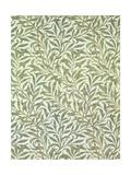 """""""Willow Bough"""" Wallpaper Design, 1887 Reproduction procédé giclée par William Morris"""