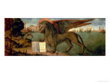 The Lion of St. Mark Giclée-tryk af Vittore Carpaccio