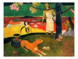 Pastorales Tahitiennes, 1893 Reproduction procédé giclée par Paul Gauguin