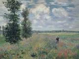 Champ de coquelicots, 1873 Reproduction procédé giclée par Claude Monet
