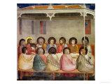 The Last Supper, circa 1305 Giclée-tryk af  Giotto di Bondone
