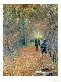 The Shoot, 1876 Giclée-Druck von Claude Monet