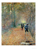 The Shoot, 1876 Giclee Print by Claude Monet