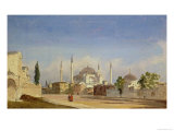 Hagia Sophia, Constantinople, 1843 Giclee Print by Ippolito Caffi