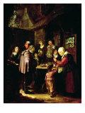 The Charlatan Lámina giclée por Frans Van Mieris