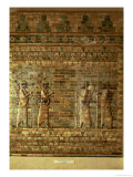 Frieze of Archers of the Persian King's Guard Giclée-tryk