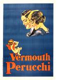 Vermouth Perucchi (c.1925) Impressão colecionável