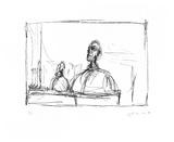 Buste, 1954 Impressão colecionável por Alberto Giacometti