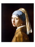 La ragazza con l'orecchino di perla Stampe di Johannes Vermeer