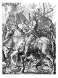 The Knight, Death and The Devil , c.1514 ポスター : アルブレヒト・デューラー