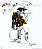 Angst en walging, Fear and Loathing in Las Vegas Poster van Ralph Steadman