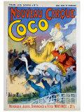 Nouveau Cirque Coco Lámina giclée