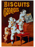 Biscuits Georges Giclee Print